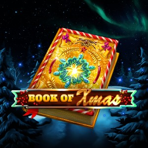 Book of Xmas Slot Logo