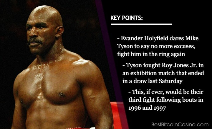Evander Holyfield vs Mike Tyson Bout in 2021?