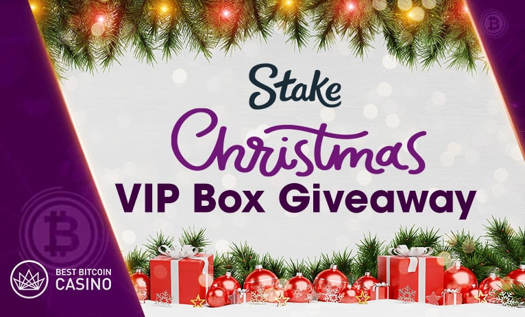 Win a Stake.com Christmas VIP Box this month!