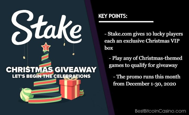 Win One of 10 Stake.com Christmas VIP Boxes This Month