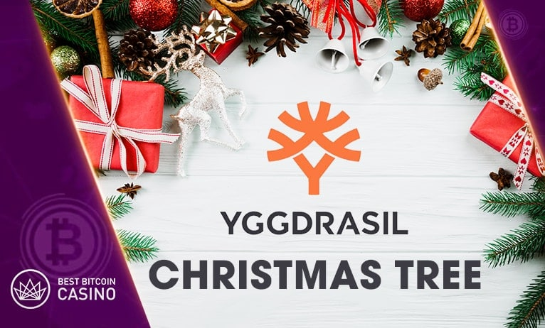 Get your gifts underneath the Yggdrasil Christmas Tree!