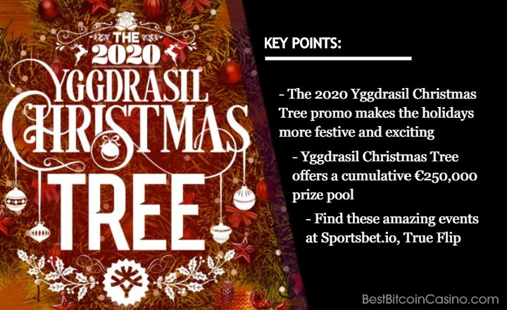 Get Huge Gifts Underneath the Yggdrasil Christmas Tree