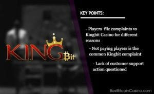 Kingbit Casino Troubled With Player Complaints