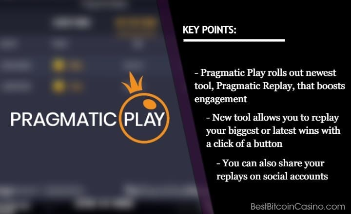 Pragmatic Play Lets You Boast Wins via New Replay Feature