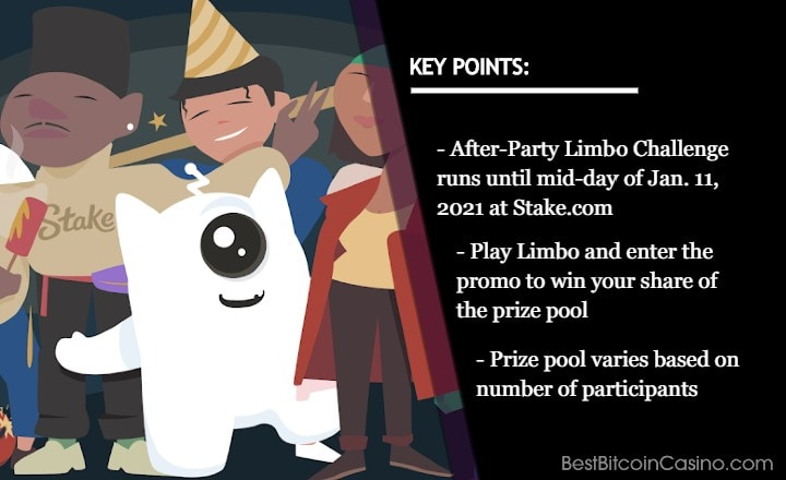 Join the After-Party With the Limbo Challenge at Stake
