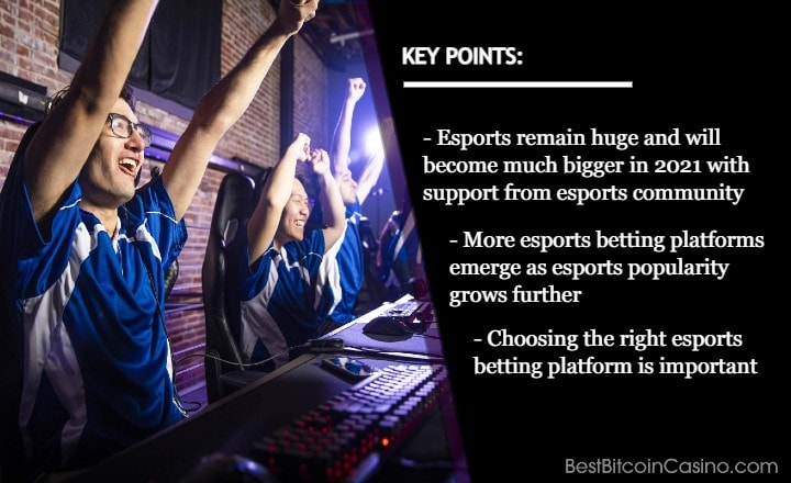 Top Esports Betting Platforms You Should Choose in 2021