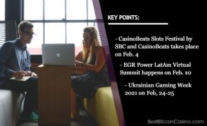 Don't Miss These iGaming Events in February 2021